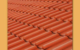 Bright Red Tiles