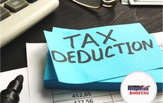 Roofing for Tax Deduction
