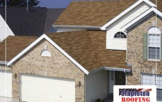 Brown Shingles Brick House