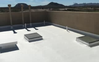 Foam Roof Finished