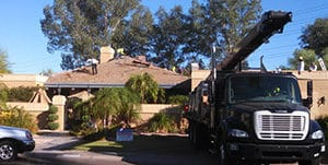 Residential Roofing Truck