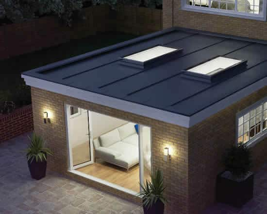 Room with Flat Roof